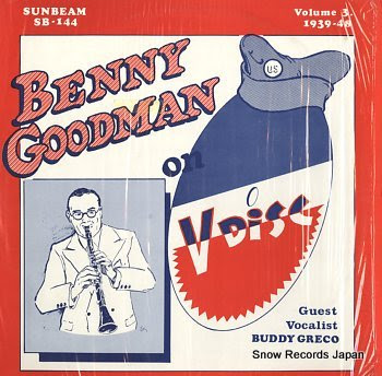 GOODMAN, BENNY on v-disc vol.3