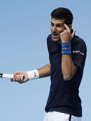 Djokovic x Raonic - ATP Finals tênis (Foto: Reuters)