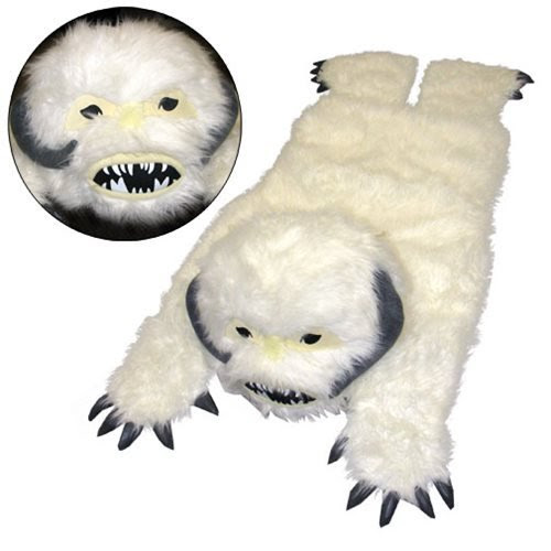 Star Wars Wampa Plush Throw Rug - Comic Images - Star Wars - Home ...