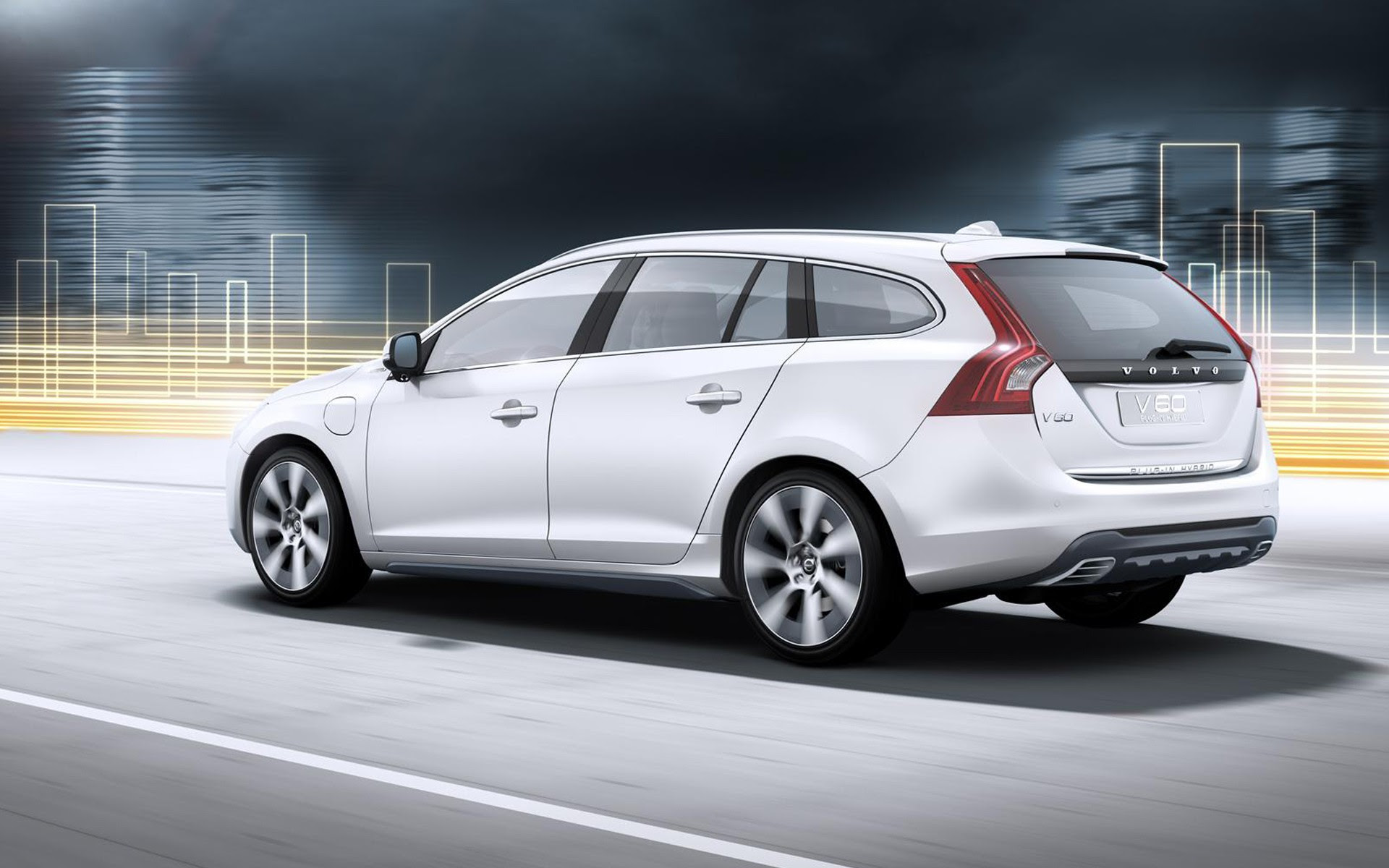 2012 Volvo v60 Hybrid 2 Wallpaper  HD Car Wallpapers  ID 2298
