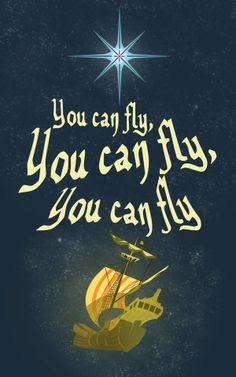 Peter Pan Images You Can Fly Wallpaper And Background Photos 35504232
