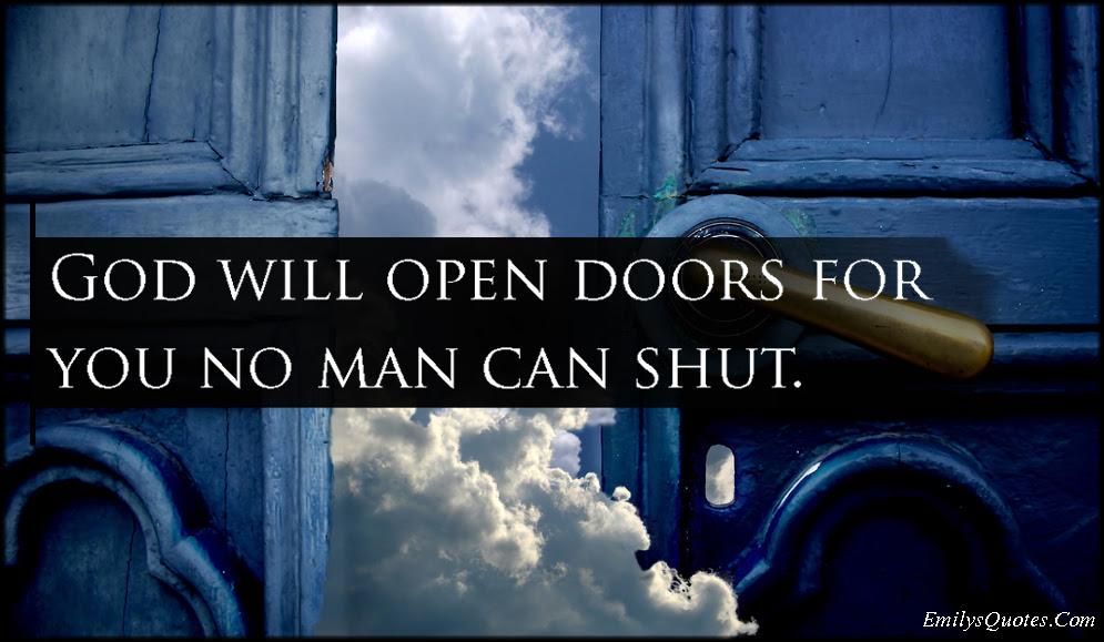 Quotes Open Door Opportunity Quotes Ncxsqldcom
