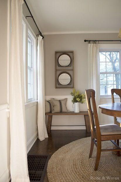 small window ac unit dining room curtain ideas