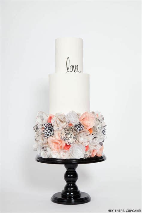 Wafer Paper Flower Cake   The Cake Blog