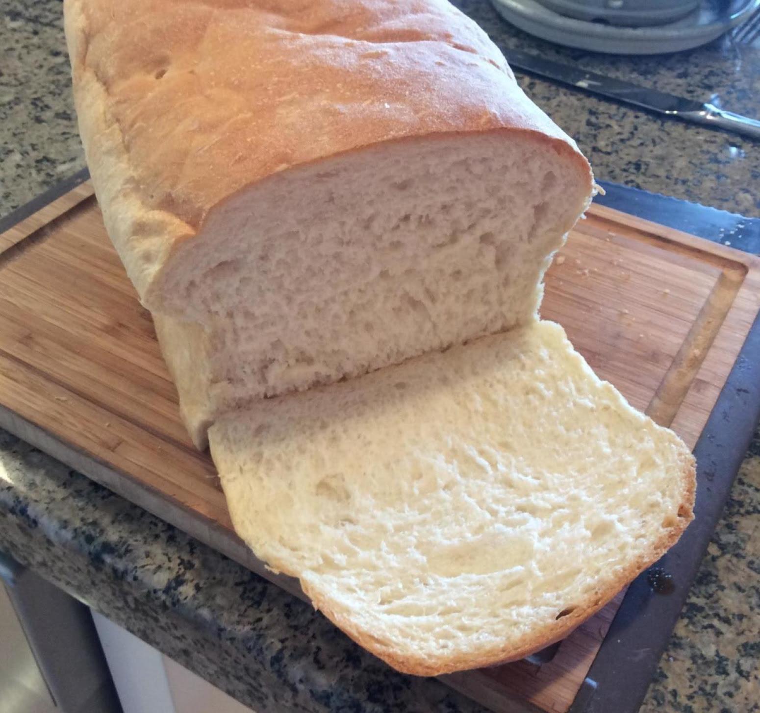 Soft and Easy White Bread Bread Machine Recipe | Just A ...