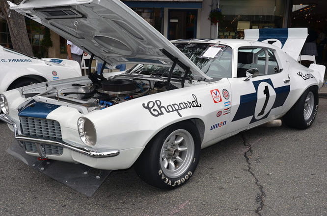 Chaparral Chevrolet Camaro, Carmel by the Sea Concours d'Elegance