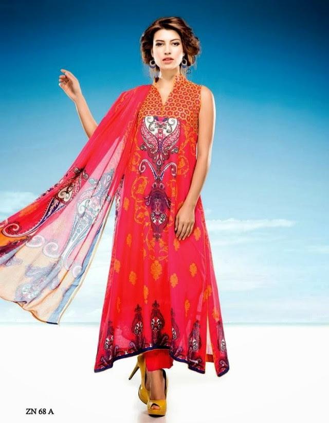 Womens-Girl-Wear-Beautiful-Zari-Net-Fancifull-New-Fashion-Lawn-Dress-by-Five-Star-Textile-2