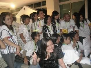 Me amidst the students from SMART Buddy Bigshot Academy