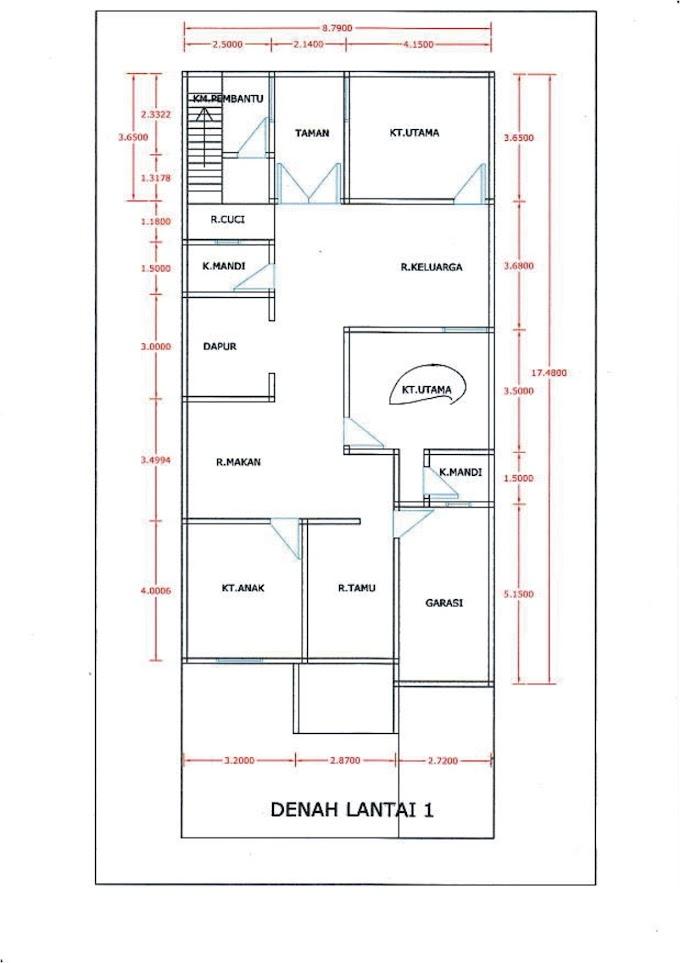 Desain Rumah Minimalis Dengan 3 Kamar Tidur   Ide Rumah Minimalis
