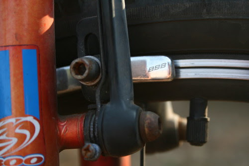 brake pad - bicycle