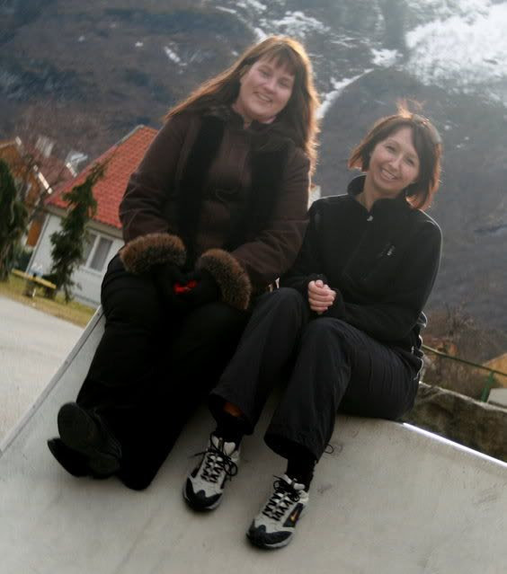 Inga og meg, he-he.. ;)