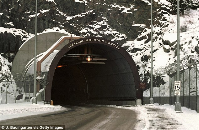 Secret: The Cheyenne Mountain Complex in Colorado was built for NORAD to direct the American response to a nuclear war with the USSR during the Cold War