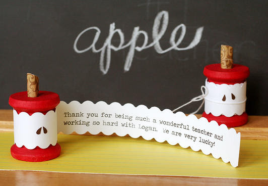 Thank Your Teachers 25 Homemade Teacher Gift Ideas Favecrafts
