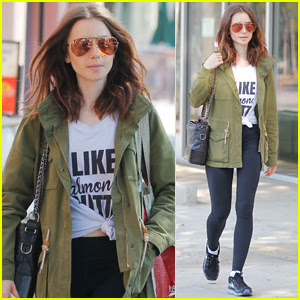 Lily Collins Doesn't Want Her New Movie to 'Glamorize' Eating Disorders