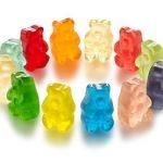 Hemp Gummies Ultra-High Potency – 55mg per Gummy Bear Hemp Oil Infused – Natural Hemp Candy Supplements for Pain, Anxiety, Stress & Inflammation Relief – Enhanced Triple Advantage (4oz)