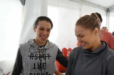 Joanna Jedrzejczyk; UFC 193; Ronda Rousey (Foto: Reprodução/Instagram)