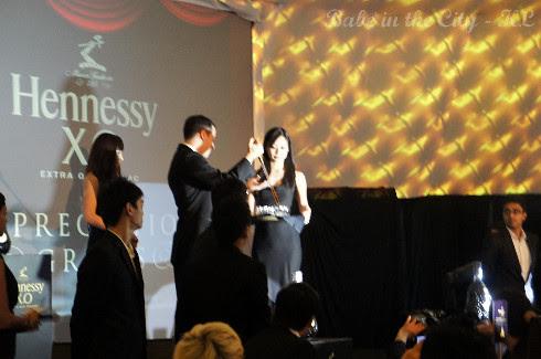 Presenting the Hennessey XO Mathusalem by Berluti - a 6 litres bottle