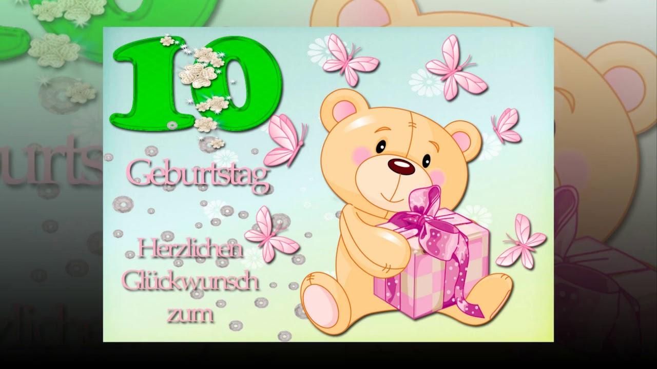 Geburtstagssprüche 10. Geburtstag