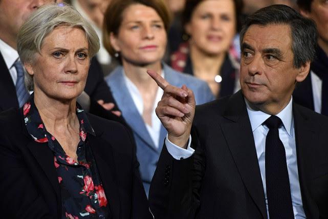 Le candidat de la droite à la présidentielle... (Photo Eric FEFERBERG, AFP)