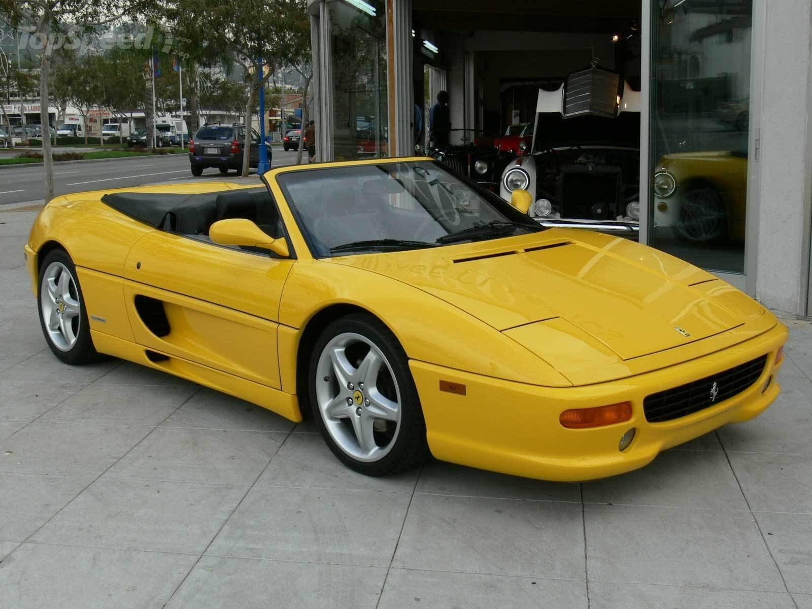 1996 Ferrari F355 Spider  Ferrari  SuperCars.net