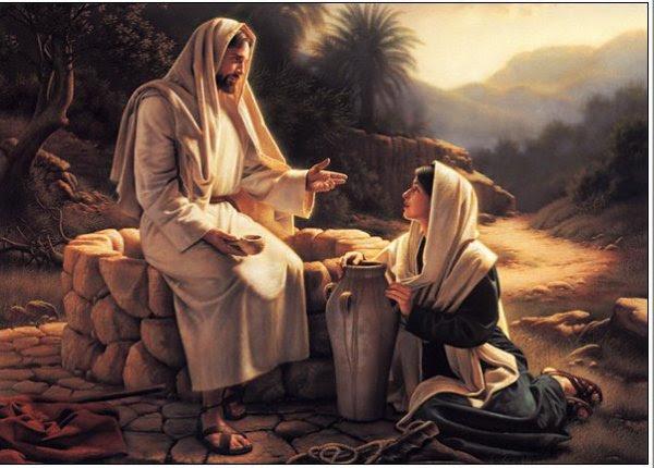 Jésus et la samaritaine       (  Jn 4, 5-42 )