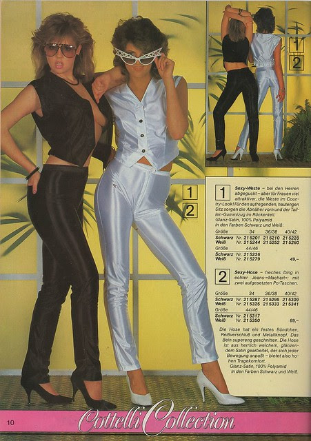 Catalog from the 1980s