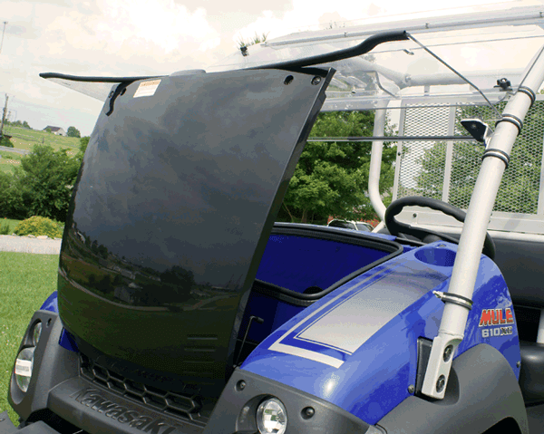 Kawasaki 600 610 Cab Enclosures Aero Vent Hard