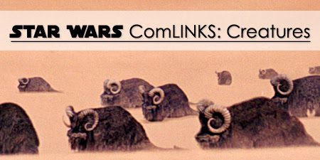 Star Wars ComLINKS: Creatures - Banthas | Anakin And His Angel