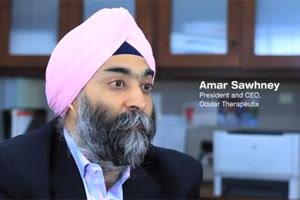 Ocular Therapeutix CEO Amar Sawhney