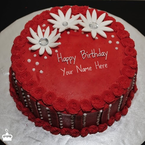 Birthday Cake With Name Write Name On Cake Images