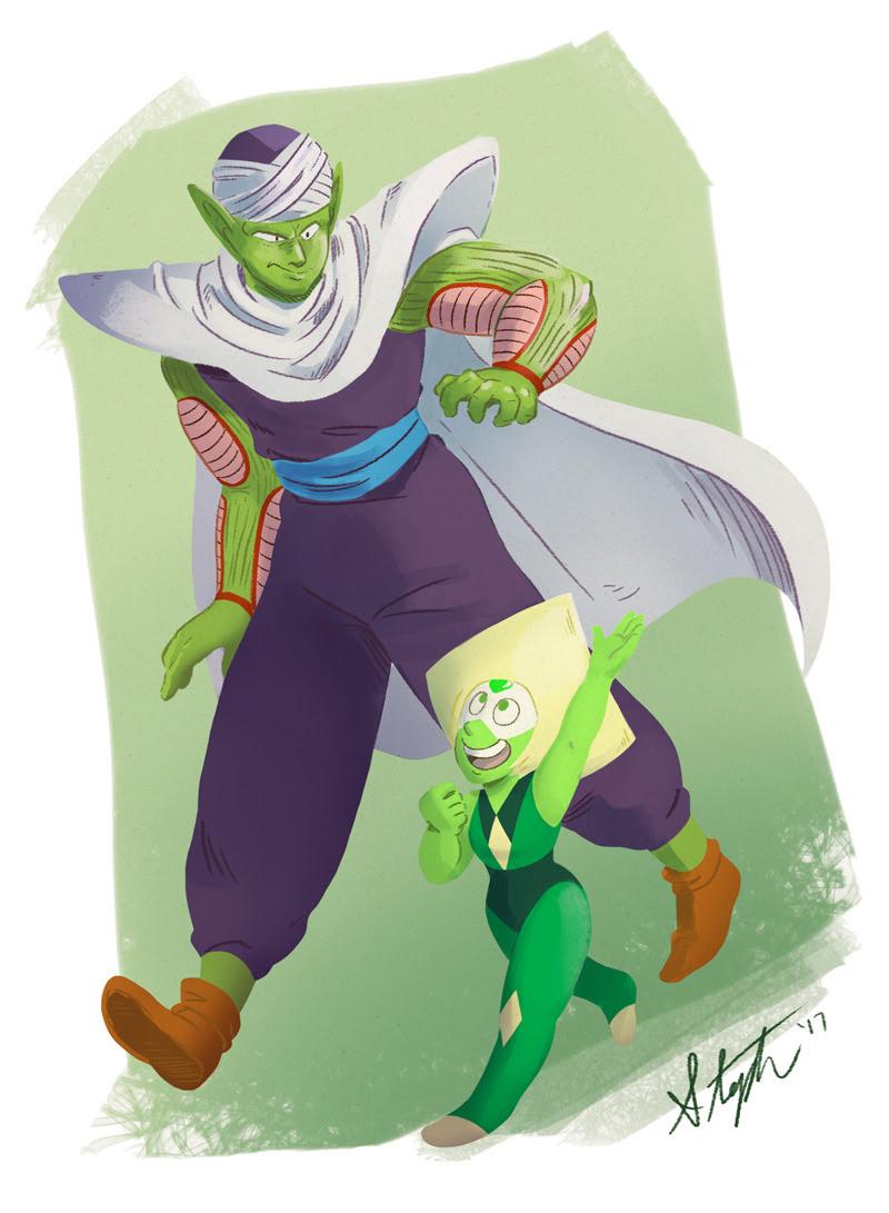 Green dad meets green Dorito