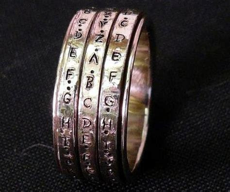 Help design a cipher for my crypto wedding rings! / Boing