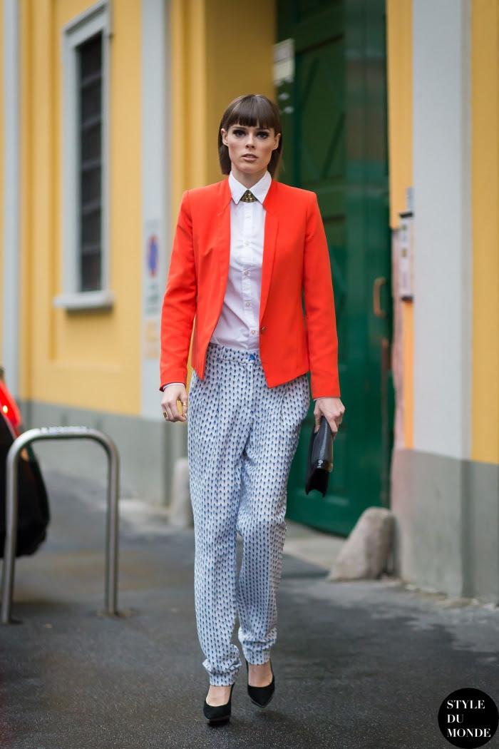 Coco Rocha Street Style Street Fashion Streetsnaps by STYLEDUMONDE Street Style Fashion Blog