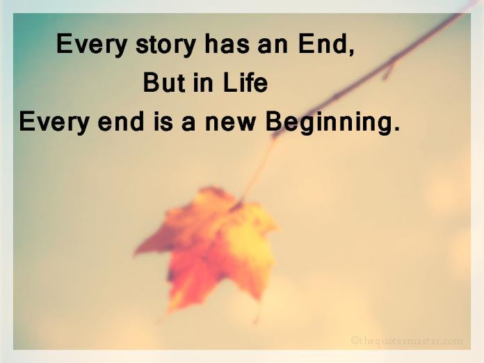 Every Story Has An End