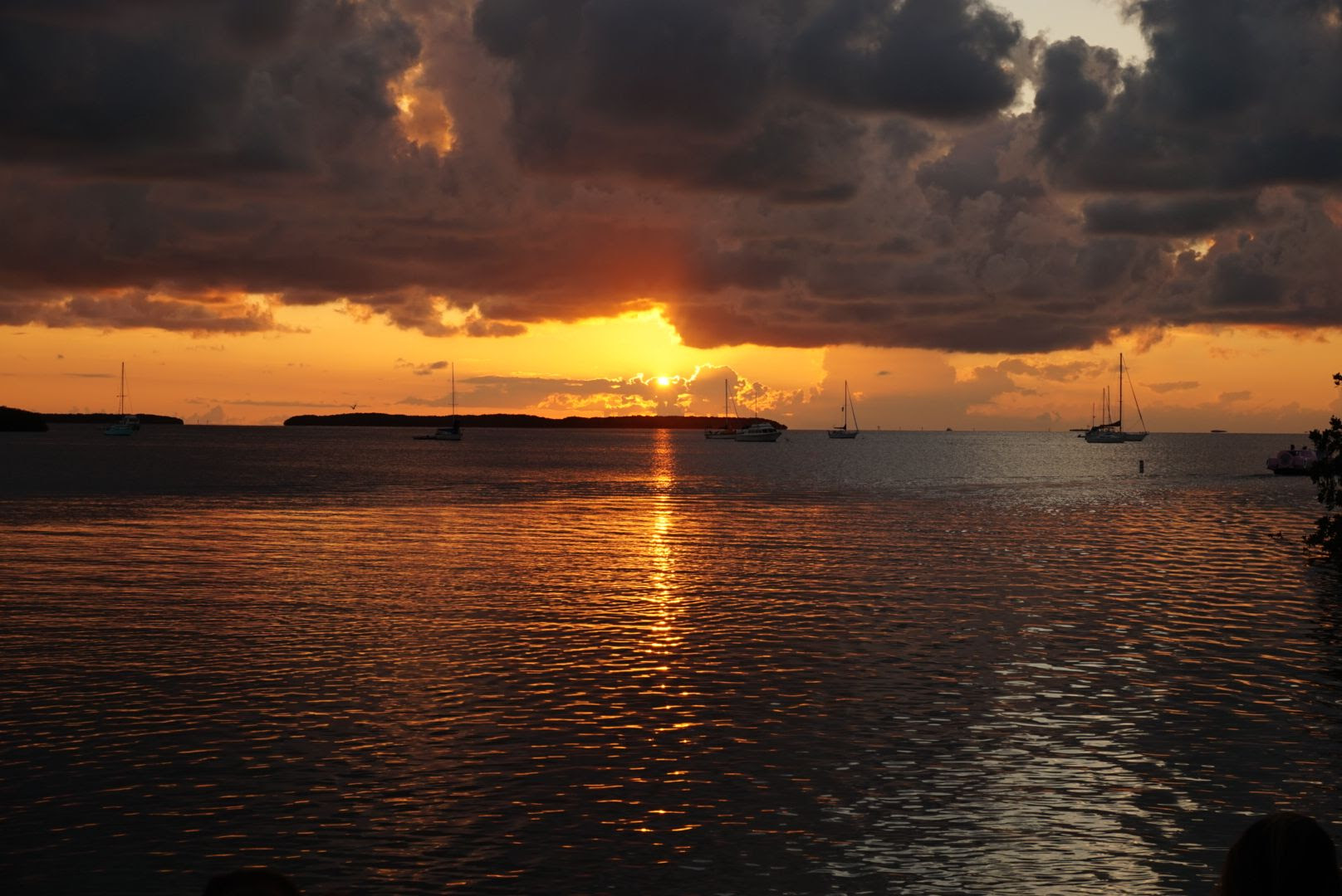 Sunset from Lorelei Cabana Bar