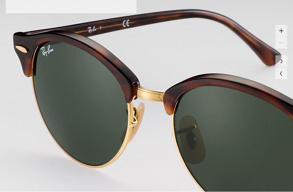 Cel mai nou model de ochelari de soare Ray Ban a fost inspirat de stilul  autentic al intelectualilor moderni. 766c1e705daf