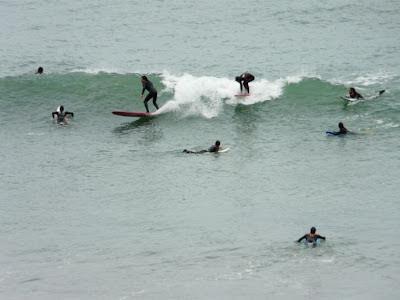 sesión de surf del 07 de marzo del 2008 - islares
