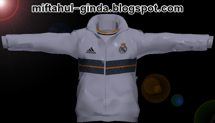 polo amp jacket real madrid 13 14 by ginda01 pes addict