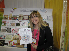 CHA Day 3:Cri-Kit Booth and Me!