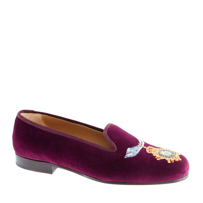 Stubbs & Wootton® for J.crew classic velvet slippers