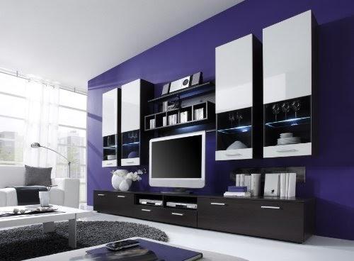 wohnzimmer moderne wohnwand vitrine anbauwand wohnzimmer. Black Bedroom Furniture Sets. Home Design Ideas