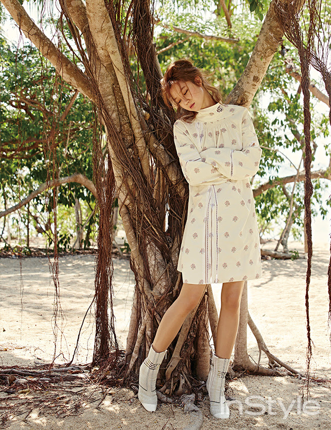 Gong Hyo Jin - InStyle Magazine March Issue '15