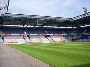 Die Schauinsland-Reisen-Arena in Duisburg