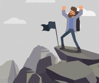 Koleksi 68  Gambar Animasi Orang Mendaki Gunung HD Gratis