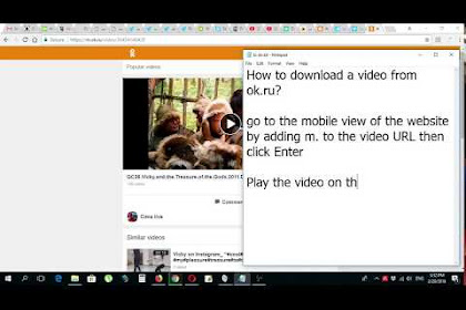 How to download a video from ok ru Odnoklassniki