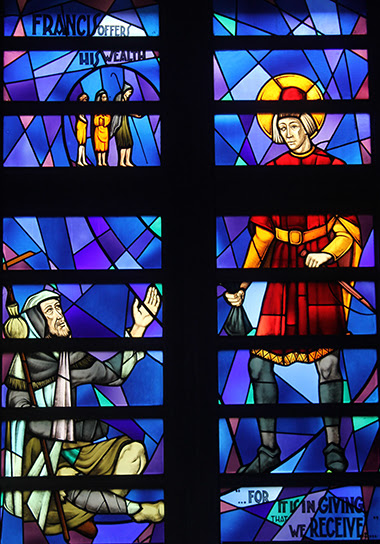 Our Stained Glass Windows St Francis Of Assisi Church