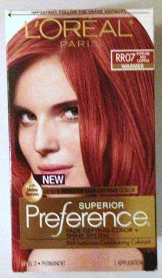red hair color chart loreal products loreal excellence hair color creme  red penny