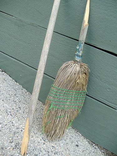 broken broom