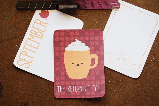 September Journal Cards