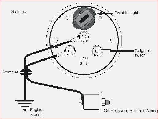 Electric Temperature Gauge Wiring Diagram